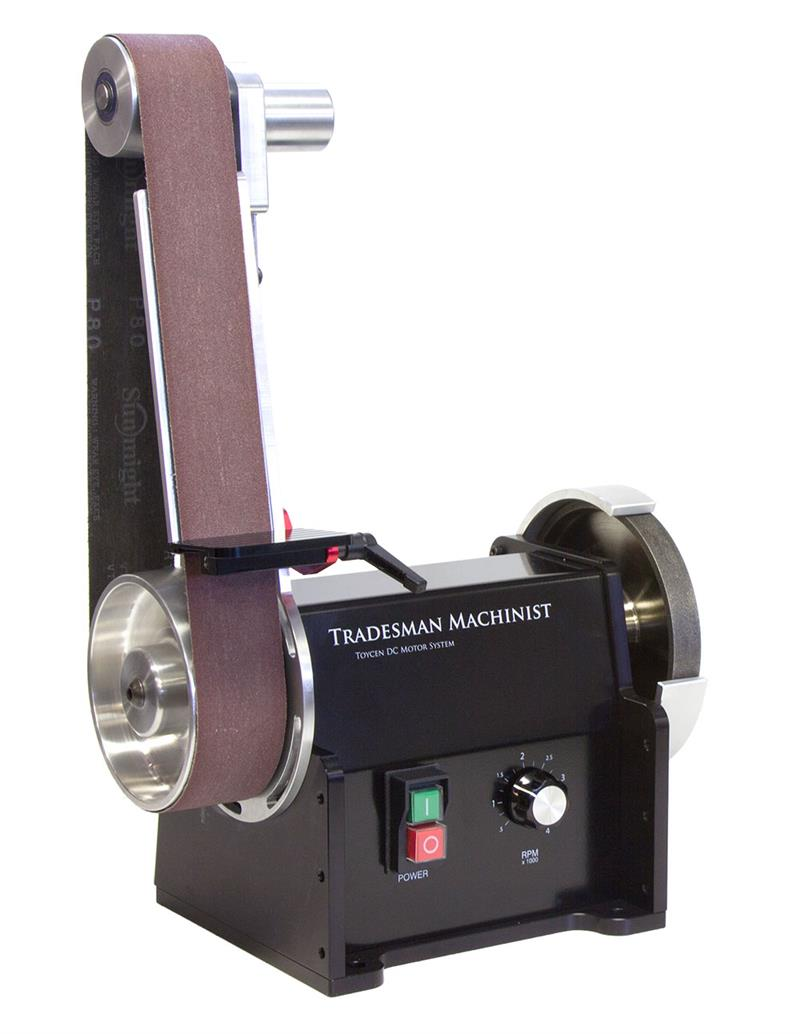 Belt Sander For Tradesman Machinist Bench Grinder